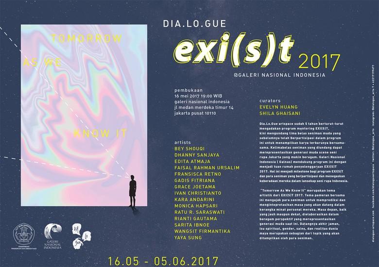 Tomorrow As We Know It Jadi Tema EXI(S)T 2017