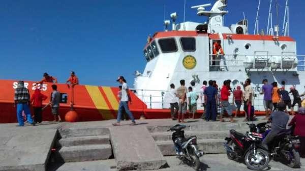 Nelayan Temukan 5 Korban Tewas Terbakarnya Kapal Mutiara