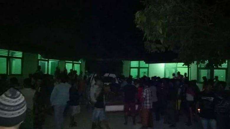 91 Penumpang KM Mutiara yang Selamat Dievakuasi ke Masalembu