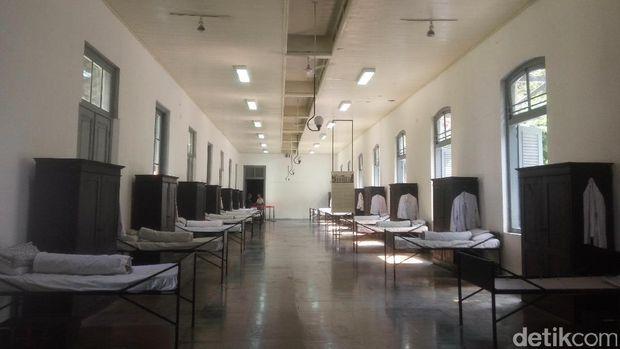 Dulunya museum merupakan bekas asrama (Syanti/detikTravel)
