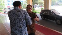 Tim Sinkronisasi Anies-Sandi Bertemu Sekda DKI di Balai Kota