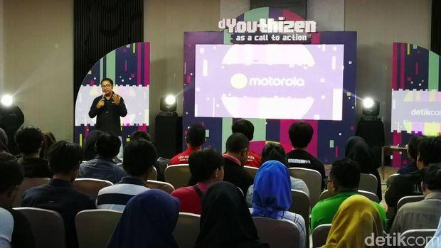 Komitmen Motorola Dukung Perubahan Anak Muda Indonesia