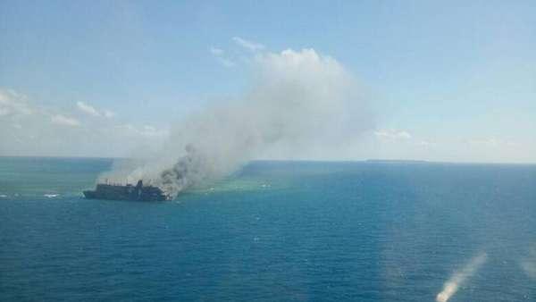 5 Korban Tewas KM Mutiara yang Terbakar Tiba di Surabaya