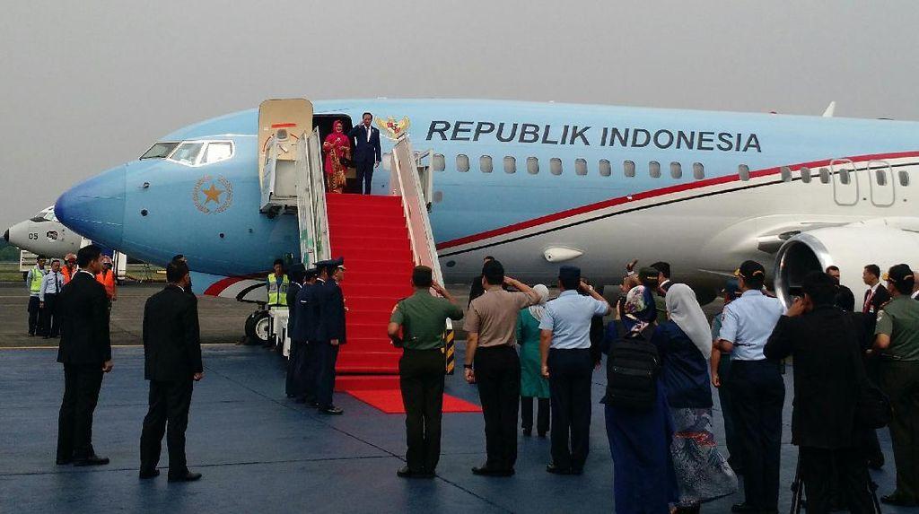 Soal Pesawat Baru Presiden, Seskab: Itu Sewa Garuda, Lebih Murah