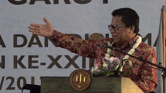 Ketua DPD Oesman Sapta dalam peringatan Harkitnas di Garut/Foto: Dok. DPD
