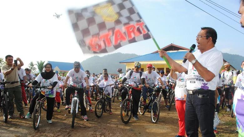 Semangat Gowes Pesona Nusantara dari Tanah Papua