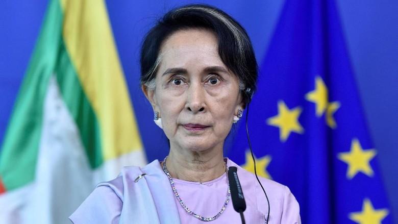 Aung San Suu Kyi Kecam Teroris di Rakhine, Bungkam Soal Rohingya