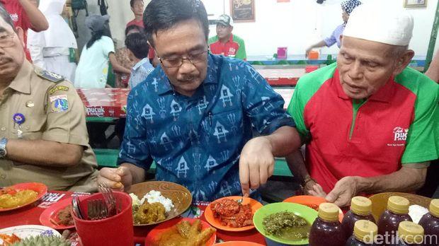 Djarot resmikan Loksem Nasi Kapau Kramat /