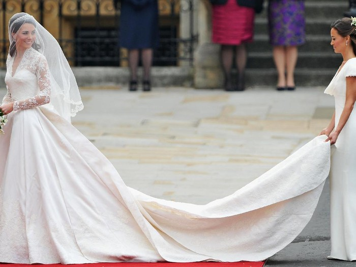 Kate Middleton dan Pippa Middleton. Foto: Getty Images