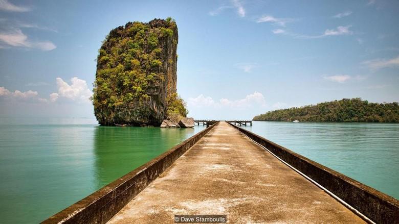 Salah satu spot di Pulau Tarutao (dok. BBC Travel/Dave Stamboulis)