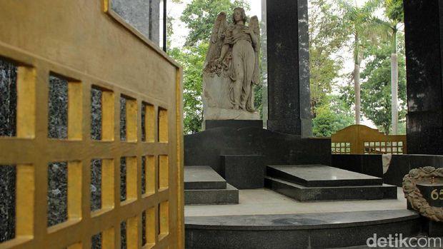 Kondisi Mausoleum yang mulai termakan waktu (Randy/detikTravel)