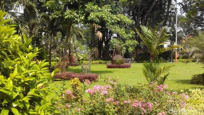 Taman Bungkul di Surabaya