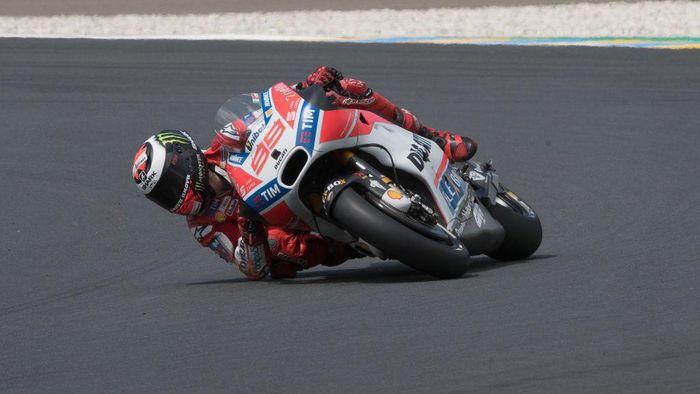 Jorge Lorenzo di Le Mans (Foto: Getty Images/Mirco Lazzari gp)