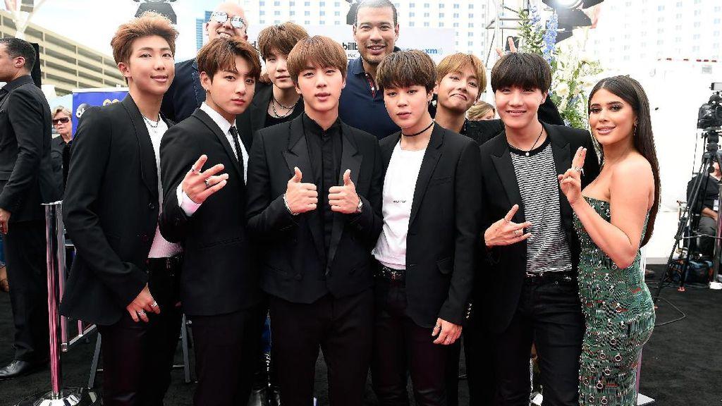 Kulit Berkilau BTS yang Mencuri Perhatian di Billboard Music Awards