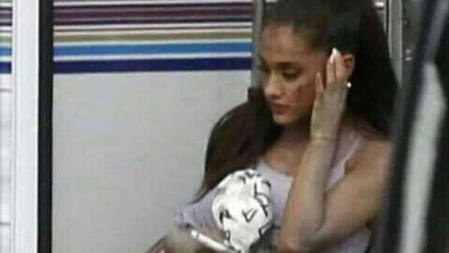 Suasana Mencekam Pasca Ledakan di Konser Ariana Grande