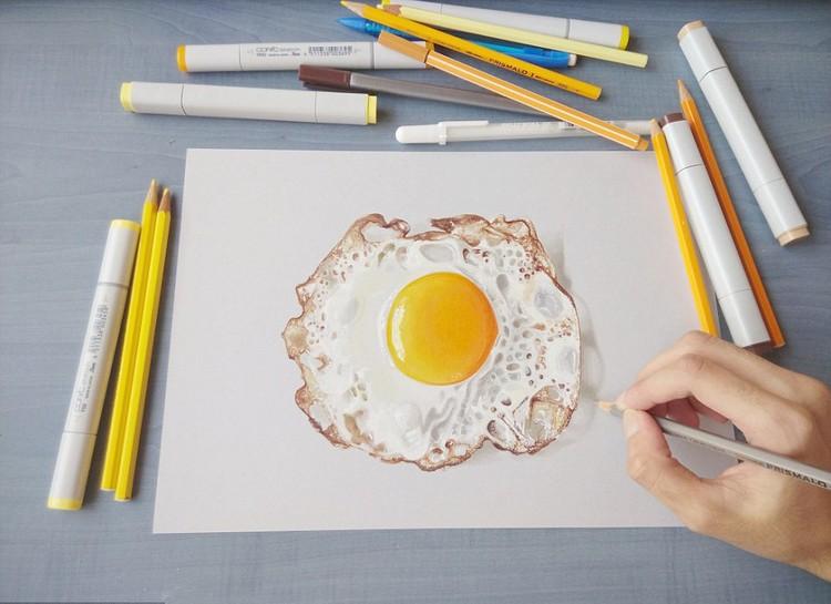 Kreatif Goresan Pensil Hasilkan Lukisan 3d Menawan