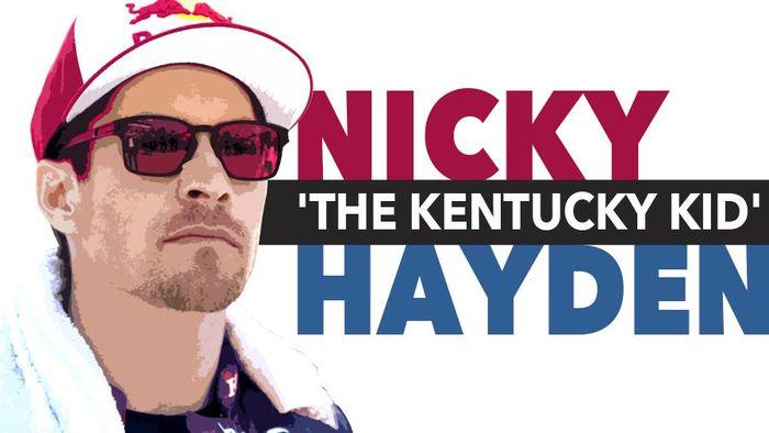 RIP Nicky Hayden (Foto: Infografis Detiksport)