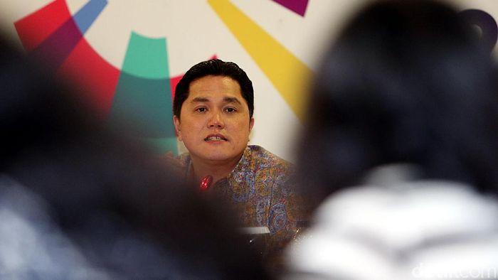 Erick Thohir, presiden INASGOC (Rengga Sancaya/detikSport)
