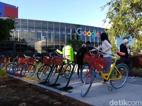 Keliling Kantor Google yang Unik dan Asyik