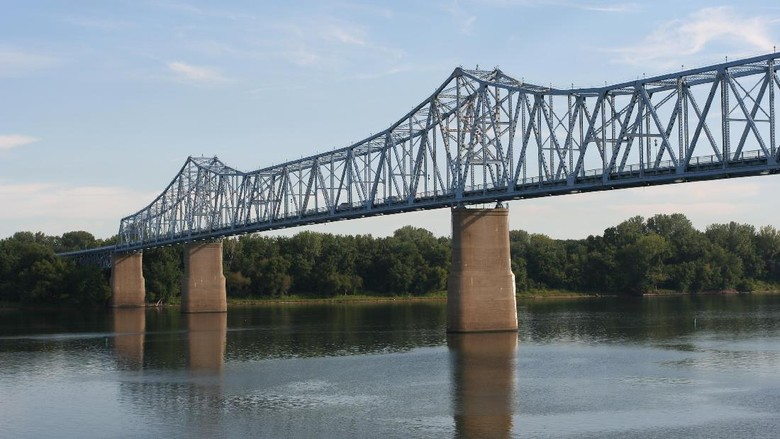 Owensboro Bridge, ikon kampung halaman Nicky Hayden (Thinkstock)