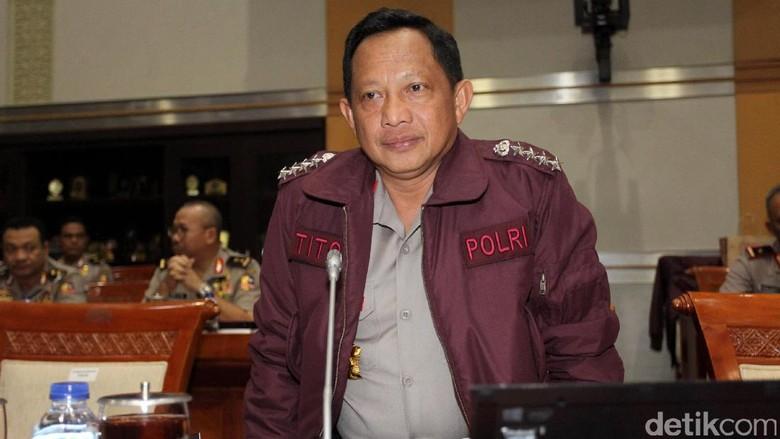 Kapolri Minta Jajaran Tingkatkan Keamanan Pasca-Bom Kampung Melayu