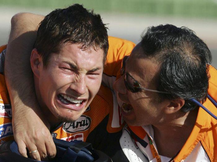 Mendiang Nicky Hayden akan dibuatkan taman di Misano Foto: AFP PHOTO / JOSE JORDAN