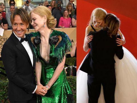 Foto: 5 Pasangan Selebriti yang Hobi Pamer Kemesraan di Karpet Merah