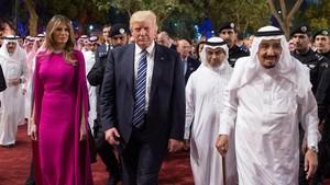 Kepentingan Trump dan AS dalam Penangkapan 11 Pangeran Arab