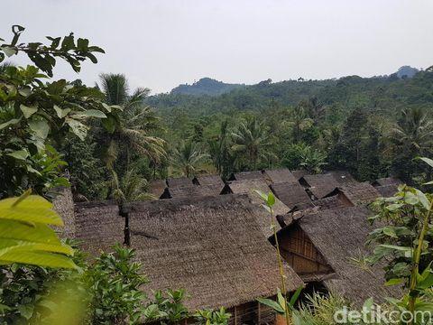 Contoh rumah adat suku baduy luar banten