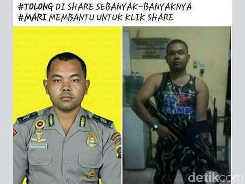 Eks Polisi yang Difitnah Jadi Pelaku Bom Dipastikan Masih Hidup