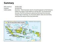 Terkait Bom Kampung Melayu, Inggris Langsung Keluarkan Travel Advice