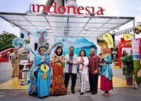 Indonesia Pamer Budaya dan Keindahan Alam di China