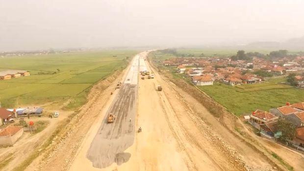Terbangun 74%, Tol Soreang-Pasir Koja Bakal Operasi Juli 2017