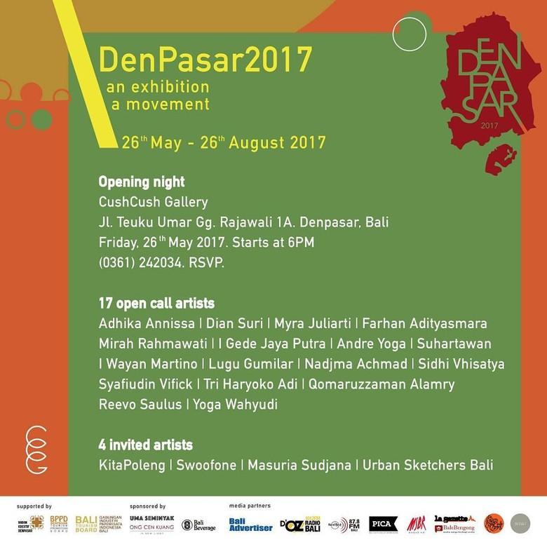 Urban Sketchers hingga KitaPoleng Ramaikan DenPasar 2017