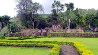 Candi Sukuh terdiri dari 3 teras (Wahyu/detikTravel)