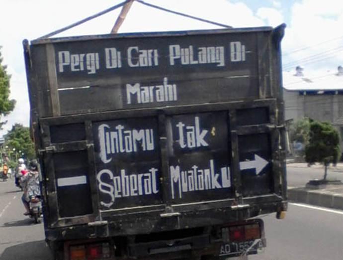 Sopir truk kudu piye? Foto: Pool