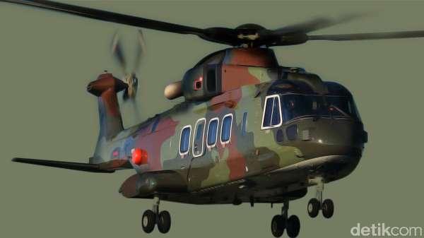 Kasus Heli AW 101, TNI Tetapkan Marsekal Bintang 2 Jadi Tersangka