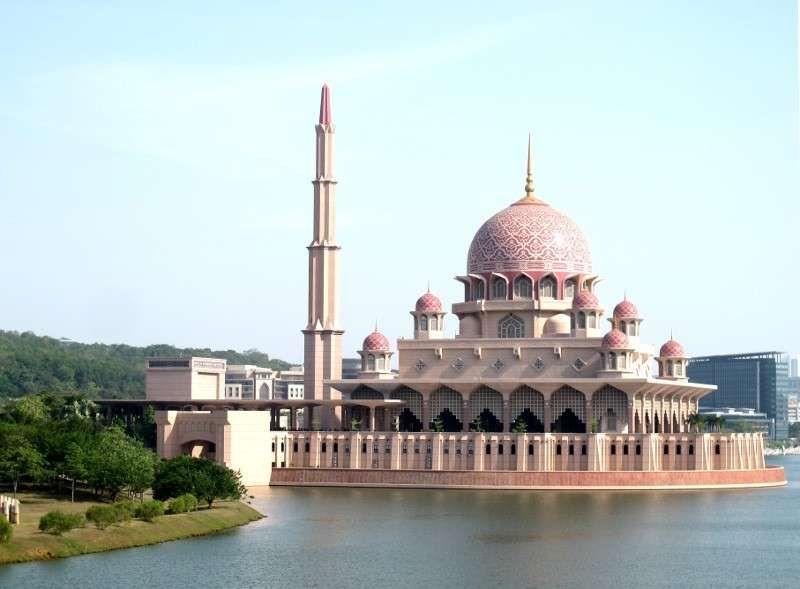 masjid pink