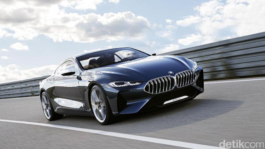 Masih Konsep, BMW Belum Pastikan Kapan Bawa Seri 8 ke RI
