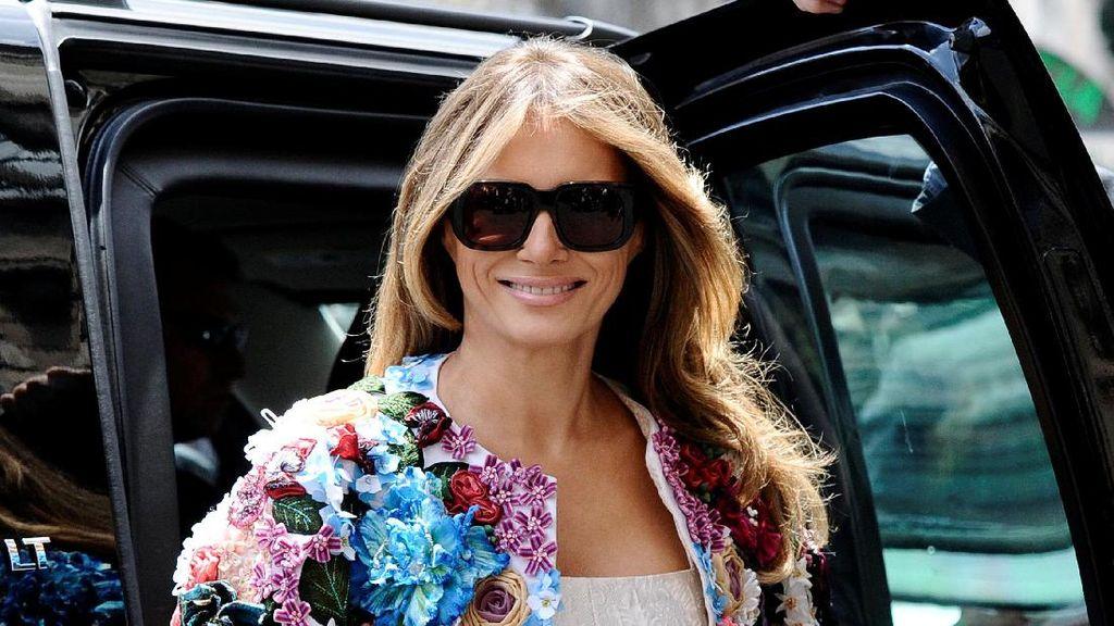 3 Bukti Melania Trump Mencontek Gaya Jackie Kennedy