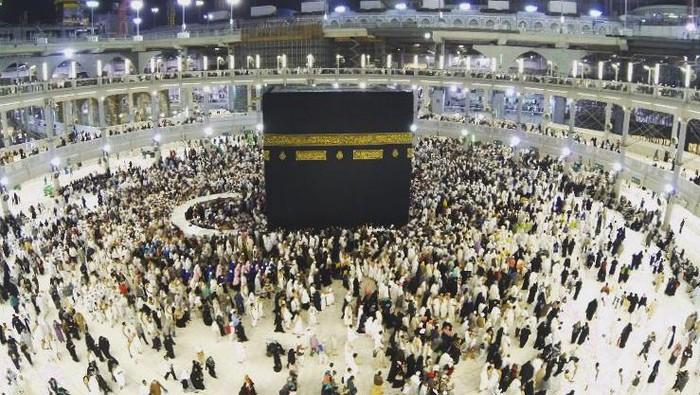Kakbah di Masjid Al Haram, Mekkah