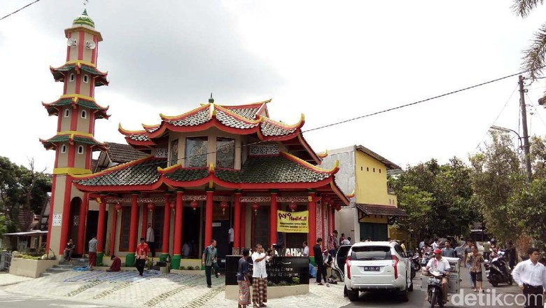Masjid mirip Kelenteng di Magelang (Pertiwi/detikTravel)
