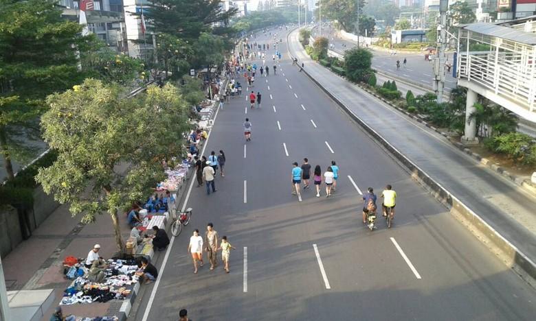Car Free Day. Foto: Widiya Wiyanti