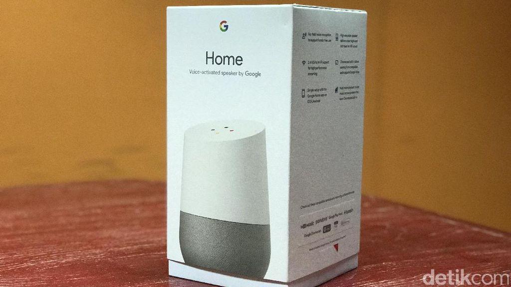 Google Home diperkenalkan pada Mei tahun lalu. Foto: detikINET/Adi Fida Rahman