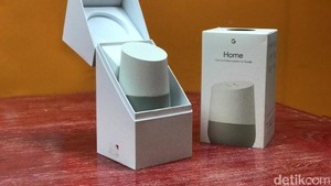 Unboxing Sang Asisten Google Home