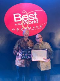 Buku 'Flavors of Indonesia' dan 'Jakarta Bites' Raih Penghargaan <i>Gourmand World Cookbook Awards</i>