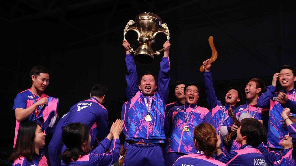 Korea Juara Piala Sudirman 2017