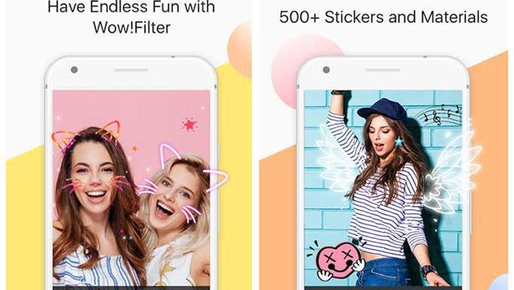 Jadi Aplikasi Viral, PhotoGrid Update 500 Stiker Per Hari