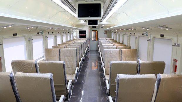 Sebanyak 6 rangkaian kereta buatan INKA akan digunakan sebagai angkutan tambahan saat mudik Lebaran. Begini penampakanya.