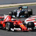 Duel Sengit Hamilton dan Vettel Berlanjut di Singapura
